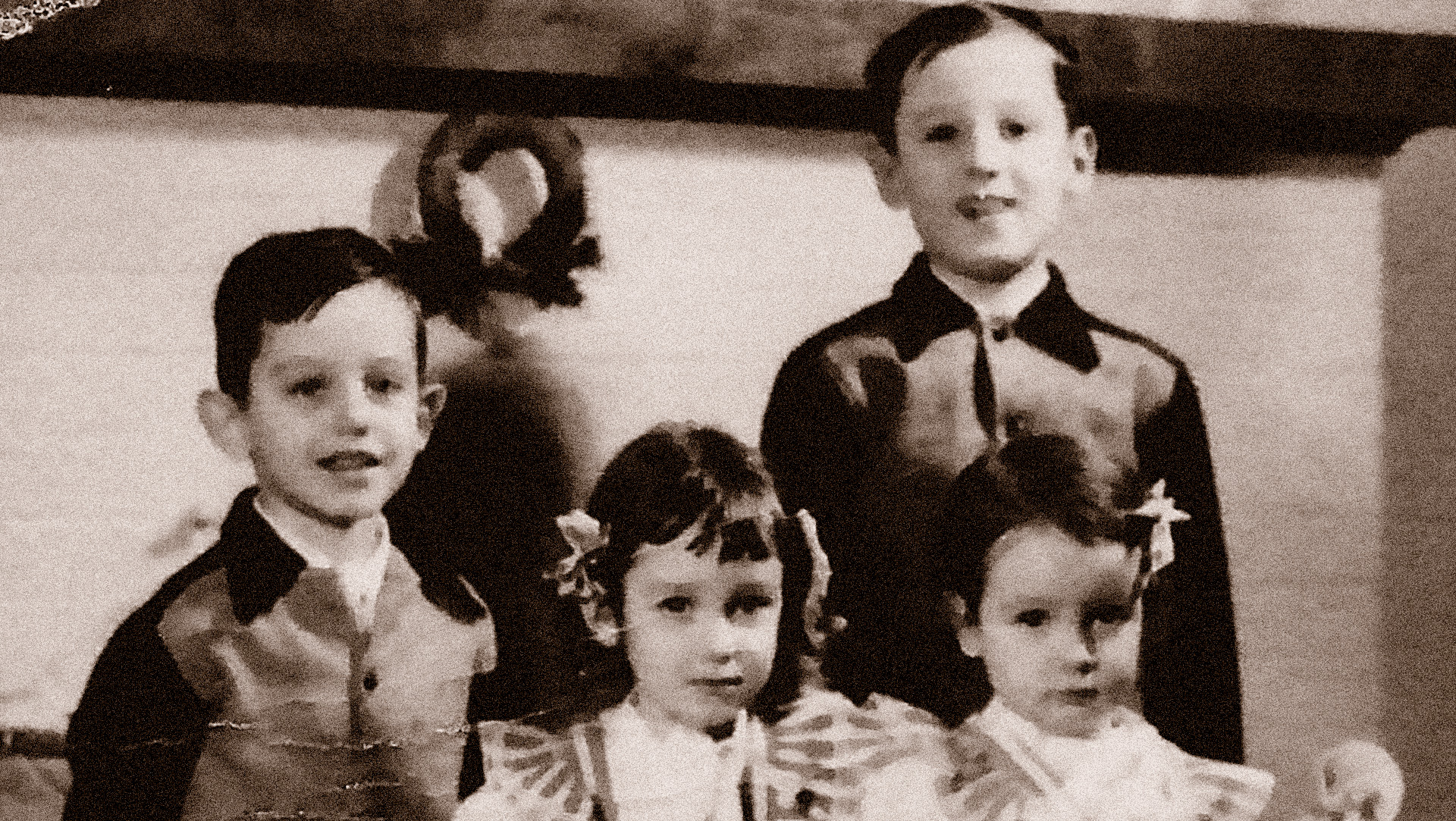 four Bossard children