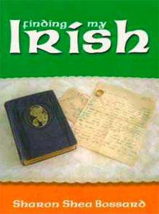 book cover: finding my irish