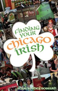 book cover: finding your chicago irish