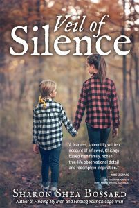 cover of Veil of Silence by Sharon Shea Bossard
