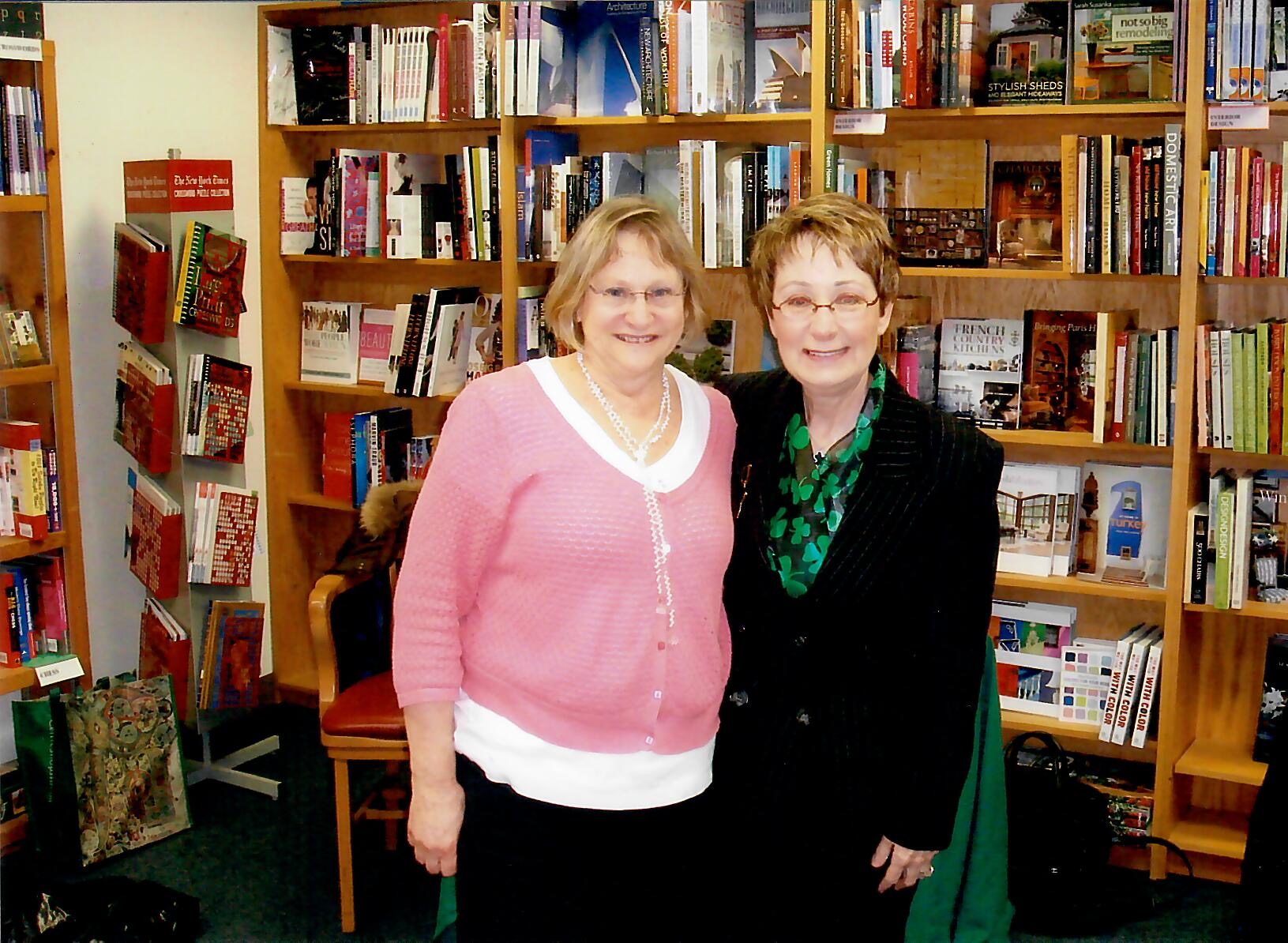 Book signing at The Book Stall in Wilmette, IL