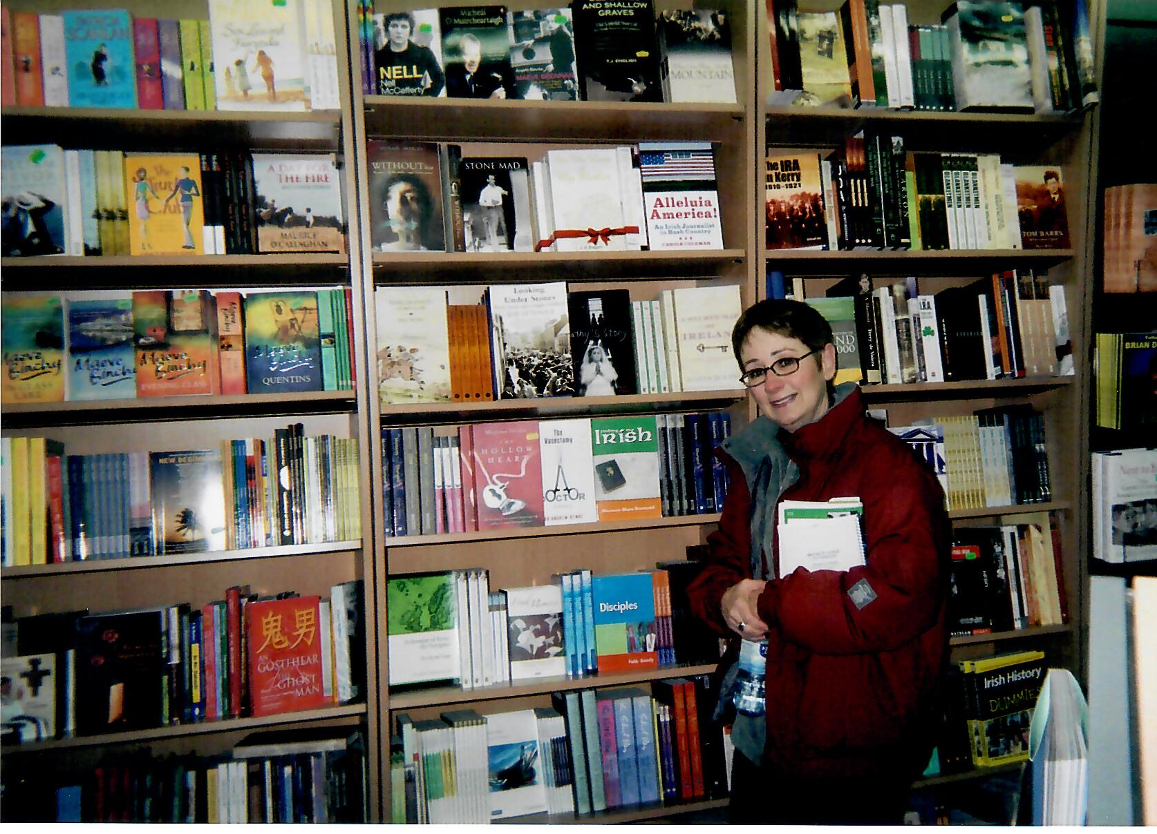 Book signing at Newcastle Bookstore, Limerick, Ireland