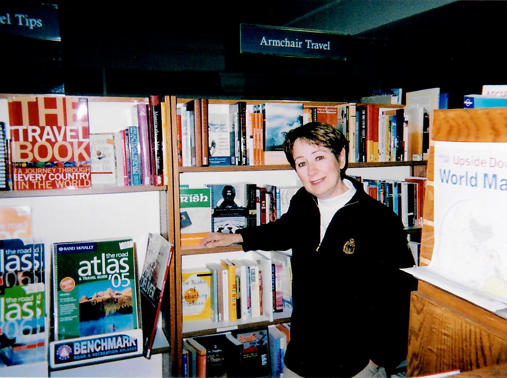 Book signing at Auntie's Bookstore, Spokane, Washington